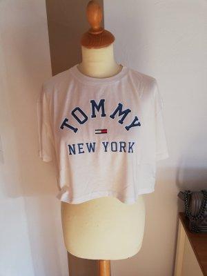 Tommy Hilfiger Cropped Shirt S Neu Bauchfrei Top