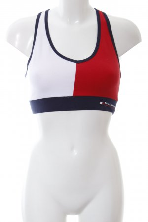 Tommy Hilfiger Cropped top colour blocking atletische stijl