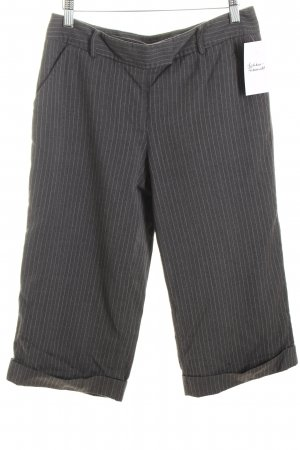 Tommy Hilfiger Culottes grey-light grey pinstripe business style