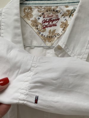Tommy Hilfiger Camicia a maniche corte bianco