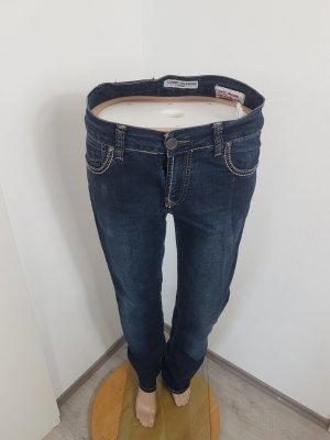 Tommy Hilfiger Jeans stretch gris anthracite-noir coton