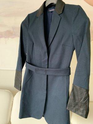 Tommy Hilfiger Trenchcoat donkerblauw-zwart