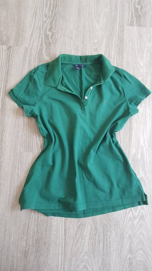 Tommy Hilfiger Polo shirt bos Groen