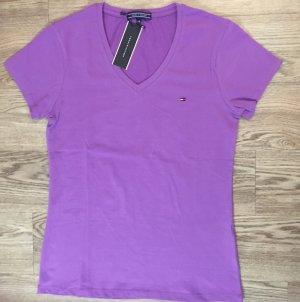 Tommy Hilfiger Damen Shirt T-shirt Top Bluse Body Gr. XL