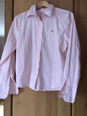 Tommy Hilfiger Camicetta a maniche lunghe rosa pallido
