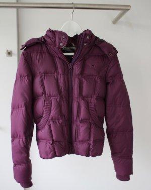 Tommy Hilfiger Denim Donsjack paars-violet