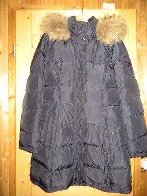 Tommy Hilfiger Abrigo de plumón azul oscuro Poliéster