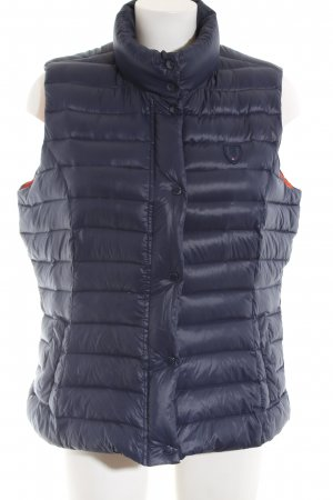 Tommy Hilfiger Down Vest blue quilting pattern casual look