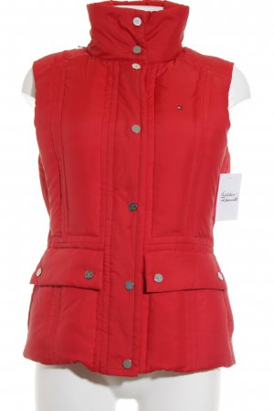 Tommy Hilfiger Daunenweste rot Casual-Look