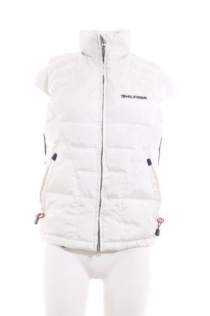 Tommy Hilfiger Donsvest wit quilten patroon casual uitstraling