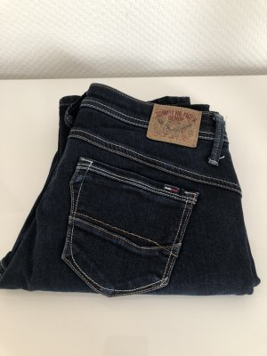 Tommy Hilfiger Denim Jeans met rechte pijpen donkerblauw Katoen