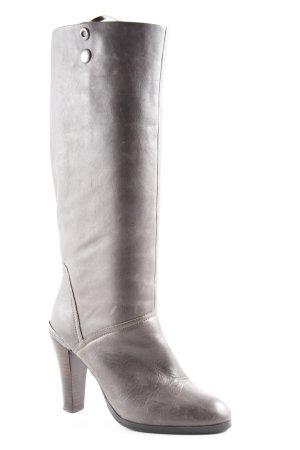 Tommy Hilfiger Denim Absatz Stiefel grau schlichter Stil