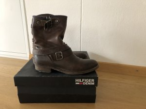 Tommy Hilfiger Denim Ankle Boots, Gr. 38 dunkelbraun