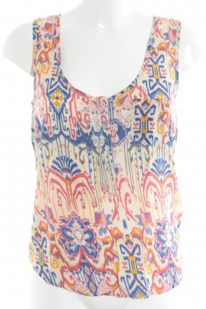 Tommy Hilfiger Denim Blouse Top floral pattern casual look