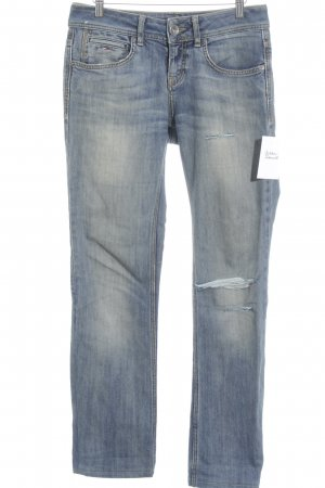 Tommy Hilfiger Denim Boot Cut Jeans blassblau-stahlblau Casual-Look