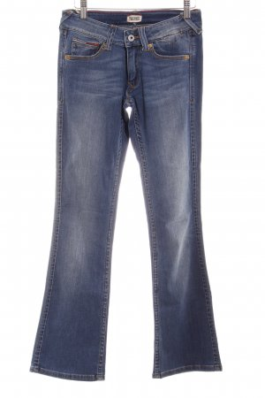 Tommy Hilfiger Denim Boot Cut Jeans blau Casual-Look