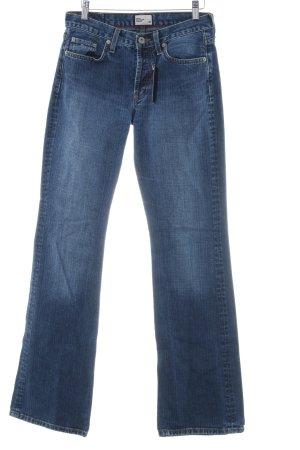 Tommy Hilfiger Denim Boot Cut Jeans blau Washed-Optik