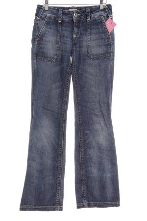 Tommy Hilfiger Denim Boot Cut Jeans stahlblau Casual-Look