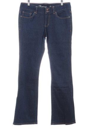 Tommy Hilfiger Denim Boot Cut Jeans stahlblau Jeans-Optik