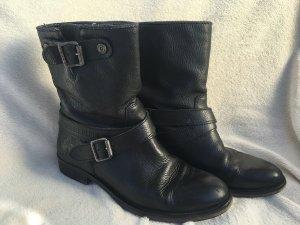 Tommy Hilfiger Denim Boots, Gr. 39, schwarz