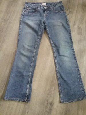 Tommy Hilfiger Denim Hoge taille jeans blauw