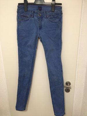 Tommy Hilfiger Denim Skinny jeans blauw-neonroos