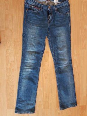 Tommy Hilfiger Denim Jeans, straight leg, blau