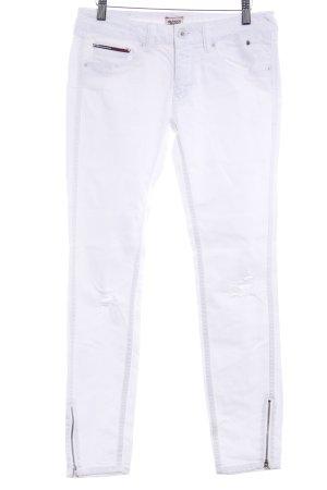 Tommy Hilfiger Denim Jeans weiß Casual-Look