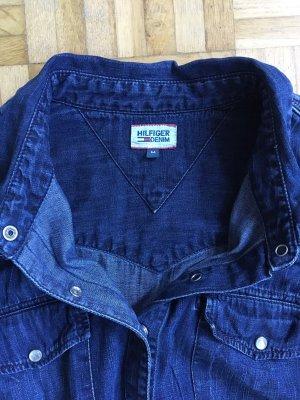Tommy Hilfiger Denim Denim Shirt dark blue