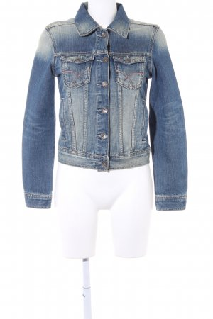 Tommy Hilfiger Denim Jeansjacke mehrfarbig Jeans-Optik