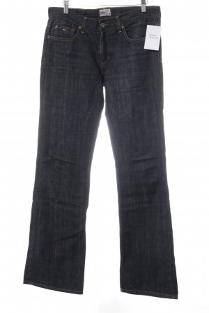 Tommy Hilfiger Denim Jeansschlaghose dunkelblau Casual-Look