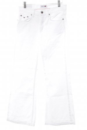 Tommy Hilfiger Denim Vaquero acampanados blanco look casual
