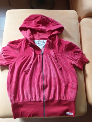 Tommy Hilfiger Denim Chaqueta estilo camisa rojo