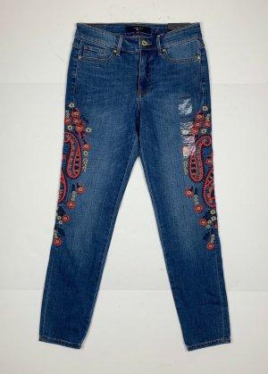 Tommy Hilfiger Denim – Kurz geschnittene Jeans mit geradem Bein  Gr. 6(US) = S/36 (M/38)