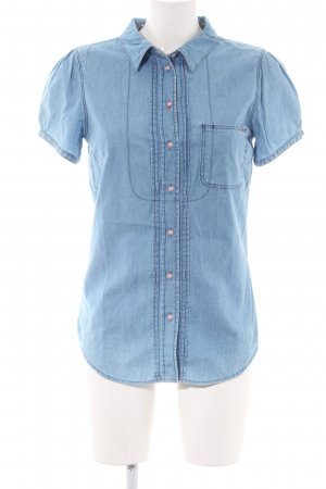 Tommy Hilfiger Denim Short Sleeve Shirt blue casual look