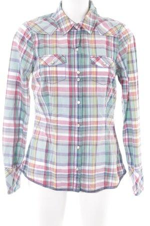 Tommy Hilfiger Denim Shirt met lange mouwen geruite print casual uitstraling