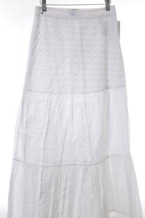 Tommy Hilfiger Denim Maxi gonna bianco-bianco sporco modello misto Stile Boho