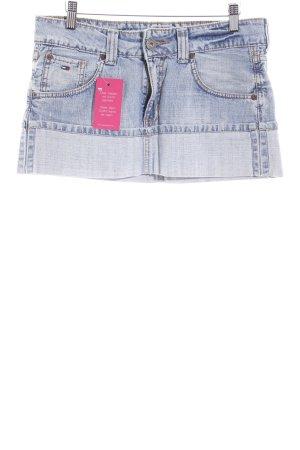 Tommy Hilfiger Denim Minirock himmelblau Jeans-Optik