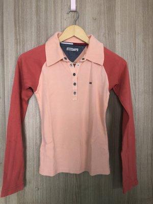 Tommy Hilfiger Denim Polo shirt abrikoos-lichtrood