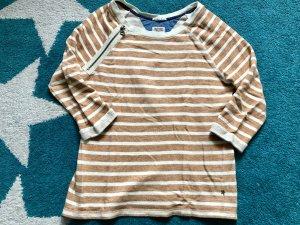 Tommy Hilfiger Denim Kraagloze sweater goud Oranje-wolwit