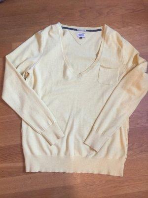 Tommy Hilfiger Denim Pullover in gelb