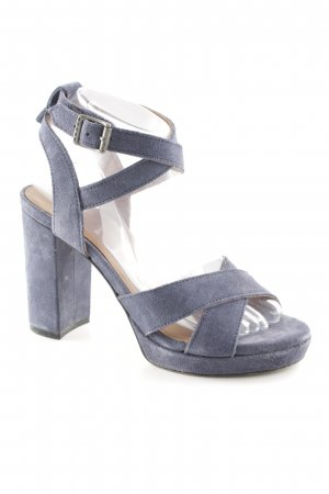 Tommy Hilfiger Denim Strapped High-Heeled Sandals cornflower blue casual look