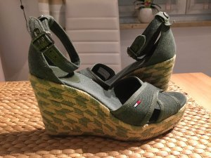 Tommy Hilfiger Denim Sandaletten – Khaki