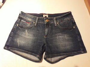 Tommy Hilfiger Denim Pantalón corto de tela vaquera azul oscuro Algodón