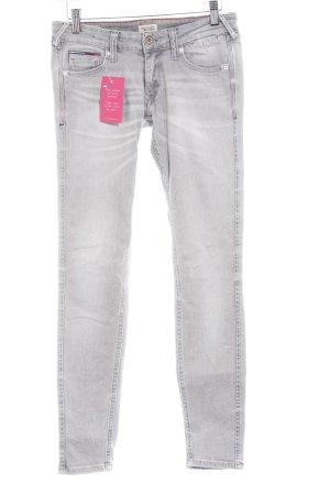 Tommy Hilfiger Denim Jeans skinny grigio chiaro stile casual