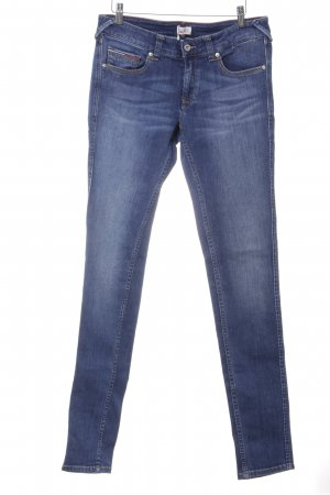 Tommy Hilfiger Denim Skinny Jeans stahlblau-kornblumenblau Casual-Look