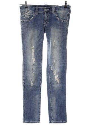Tommy Hilfiger Denim Slim Jeans blau Casual-Look