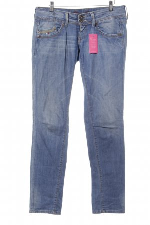Tommy Hilfiger Denim Slim Jeans kornblumenblau Casual-Look