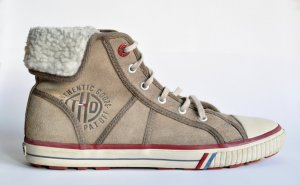 Hilfiger Denim Zapatilla brogue multicolor Gamuza