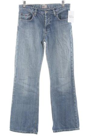 Tommy Hilfiger Denim Straight-Leg Jeans hellblau Casual-Look